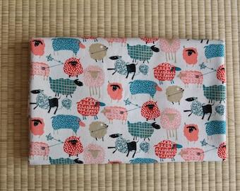 cotton sheep fabric 1/2 yard