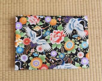 Japan kimono yukata chinese cheongsam crane flower  Fabric 1/2 yard