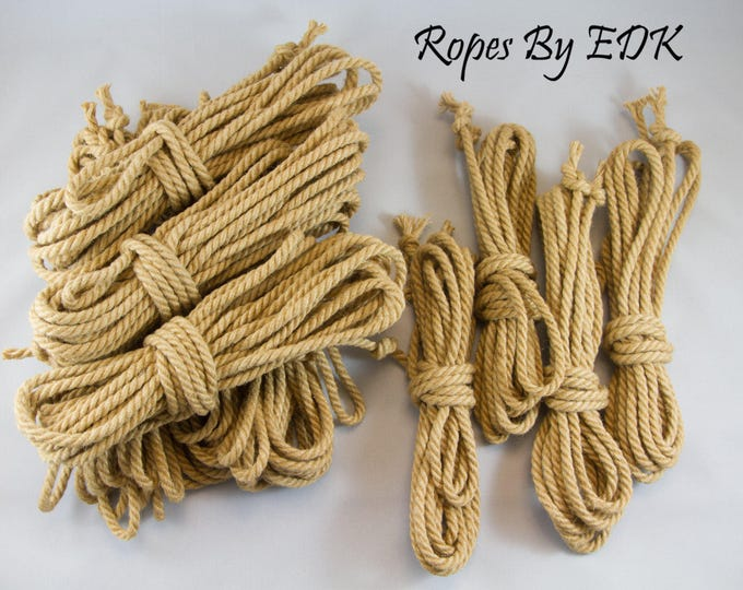 Jute Bondage Rope - Riggers Kit