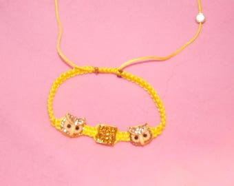 Yellow OWL Shamballa