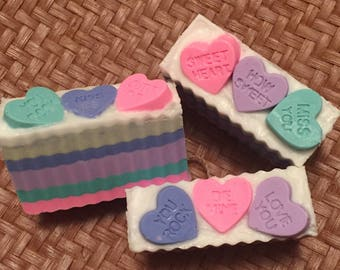 Sweet Heart Shea Butter and Coconut Oil Soap