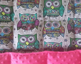 Girls Custom Weighted Blanket - Twin Size