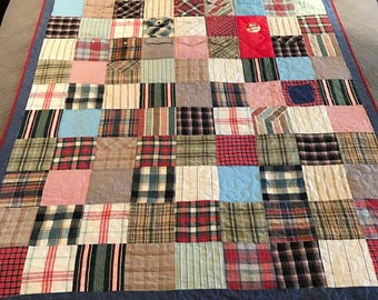 Deposit for Memory Quilt from Men's Shirts