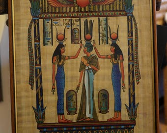 Egyptian Papyrus Painting | Egyptian Art | Ancient Egypt