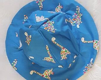 Blue Dinosaur Sun Hat