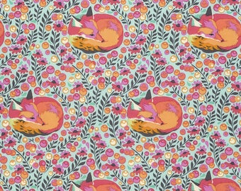 Chipper by Tula Pink - Sorbet Fox Nap - Fabric by the yard