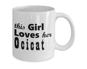 Ocicat - 11oz/15oz Mug - Cat Mugs Gifts - Cat Lover Gift - Cat Coffee Mug - Funny Cat Mug - Coffee Mugs - Tea Mugs - Cat Gift For Her