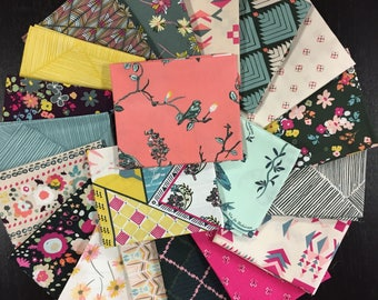 Last Bundle - Indie Bohème Full Fabric Collection - Pat Bravo - Art Gallery Fabrics - 20 Fat Quarters
