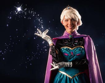 Elsa Coronation Gown and Cape