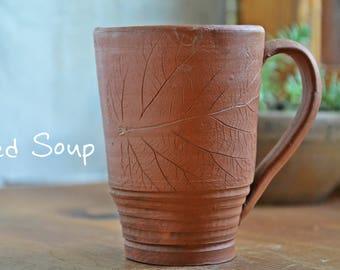 Ceramic cup, clay mug, eco pottery teacup