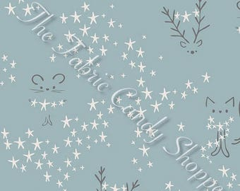 Little Town by Art Gallery Fabrics - Starbright Fog - Cotton Woven Fabric