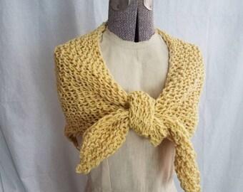Hand-Knit Scarf/Shawl