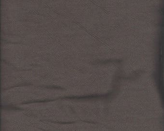 2 1/2 yards of brown textured woven fabric