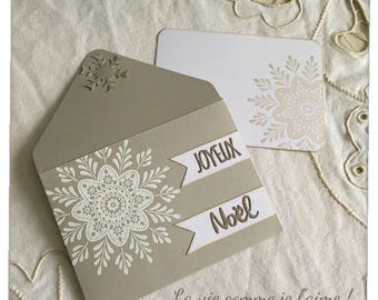 Envelope gift / gift card / Christmas