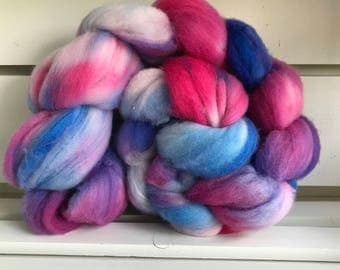 Super Wash Merino Roving - Spinning Fiber - Spinners Itch - Free Shipping