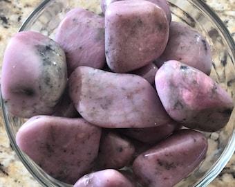 Lavender THULITE with Quartz