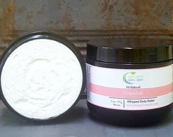 All-Natural Grapefruit Whipped Body Butter