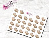 Kawaii Happy Mail - Cute Planner Stickers for ECLP, Happy Planner, TN, Personal Planner etc