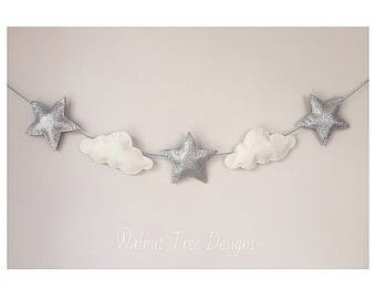 Clouds and Stars Garlands