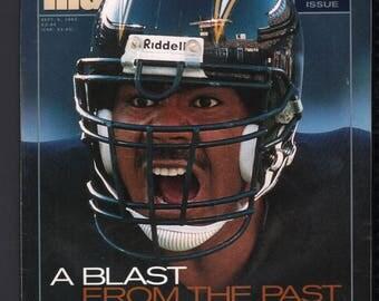 Vintage Magazine - Sports Illustrated : September 6 1993 - Junior Seau