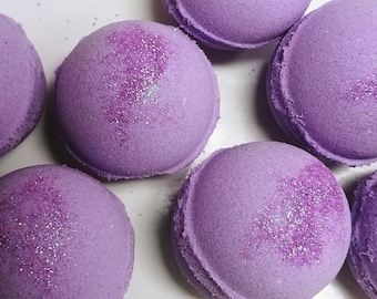 """Lush type Fizzy Bath Bombs  """"Lot""""  of 12 Victoria Secret Love Spell type Free Shipping"""