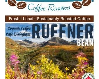 Ruffner Bean. Light Roast Nicaragua Segovias