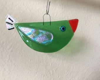 Birdie Suncatcher Ornament