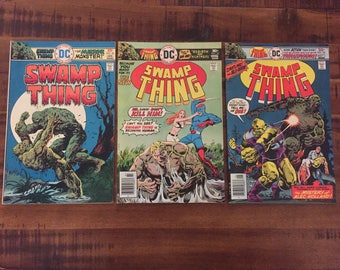 1975-76 Swamp Thing #20, 23 and #24/ DC Comics/ J/ Choose One or All Three for aDiscounted Price!!!