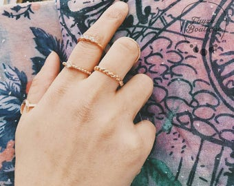 Ring set with Midi Rings