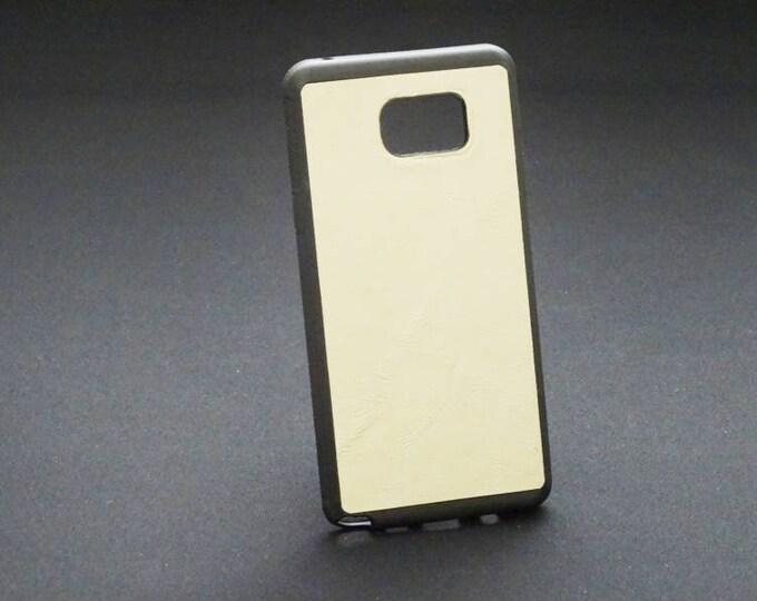 Samsung Galaxy Note 5 - Jimmy Case in Satin Tan - Kangaroo leather - Handmade - James Watson
