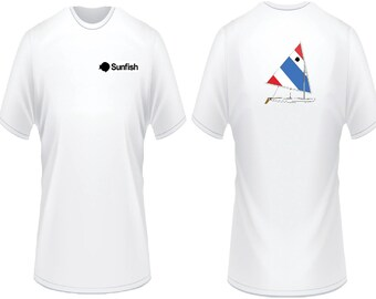 Sunfish Red White Blue T-Shirt