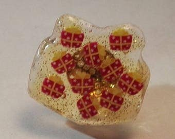 ring gift gift cane and uv gel