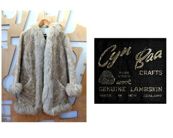 Shearling coat Sheepskin Coat Fur coat Princess coat Boho Sheepskin jacket Hipster Hippie Winter coat Preppy Luxury coat Swing Folk