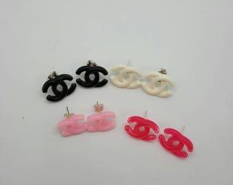 Fashion cabochon earrings  (ER053)