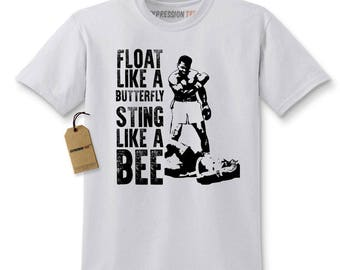 Float Like A ButterFly Muhammad Ali Tribute Kids T-shirt