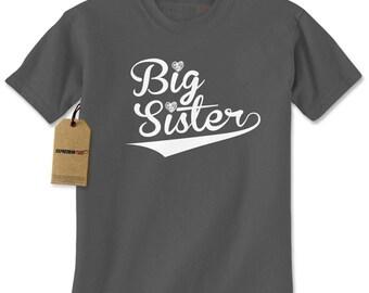 Big Sister Sibling Mens T-shirt