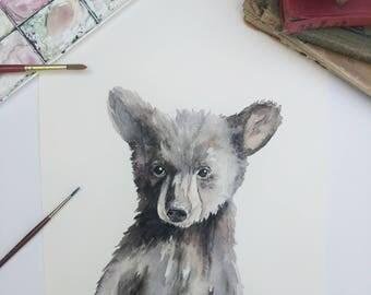 Bear Cub - Original