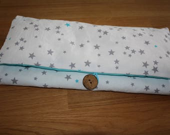Changing pad Nomad fabric starry blue
