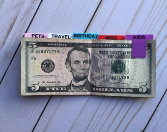 Cash Clips Second Edition | Money Clips | Inspired by Dave Ramsey Baby Steps