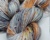 Cold Lava - Platinum Sock Yarn - Superwash Merino + Nylon - 75/25 - Ready to ship