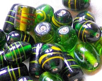 STOCK CLEARANCE! 80GSM OR DIAMETRE15 TRANSPARENT GLASS BEADS + 11 / 20MM BEAD
