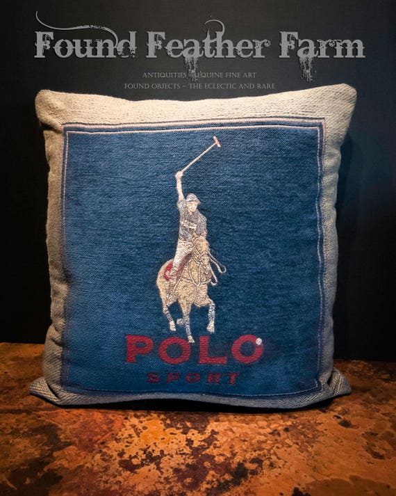 Vintage Ralph Lauren Polo Pillow