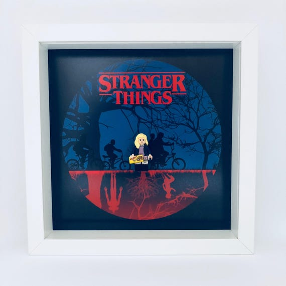 Stranger Things Character Minifigure Frame
