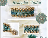 "Schéma bracelet "" India"""