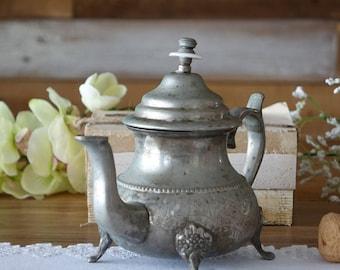 Vintage Moroccan teapot - Silver teapot