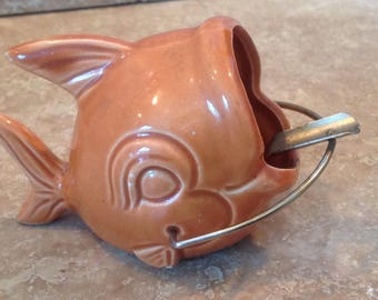 Fish ashtray