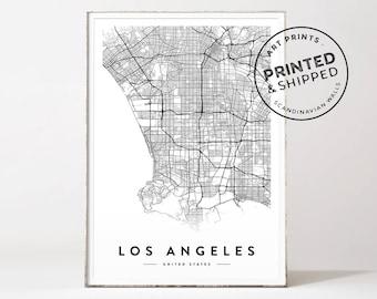 Los Angeles map print, Los Angeles poster, Los Angeles city map, Los Angeles map, Los Angeles print, LA poster, LA map, LA city map