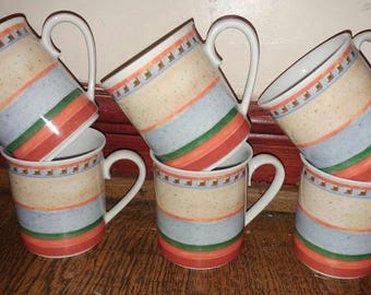 6 Villeroy and Boch Switch 4 Mugs
