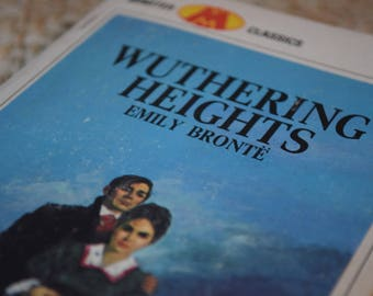 Wuthering Heights. Emily Bronte. Minister Classics. A Vintage Paperback Book. 1968