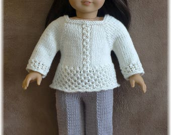 American Girl - Sweater and Pants (knitting pattern)